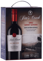 Jim's Creek Shiraz Cabernet Sauvignon - South Eastern Australia - Bag-In-Box, 3 liter