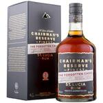 Chairman's Reserve, The Forgotten Casks - St. Lucia. 40% alk. 70 cl.