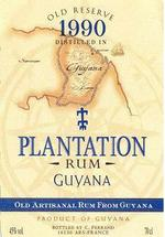Plantation Rum - Guyana 1999 Old Reserve