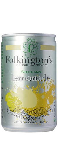 Folkington's Sicilian Lemonade. 15 cl. dåse