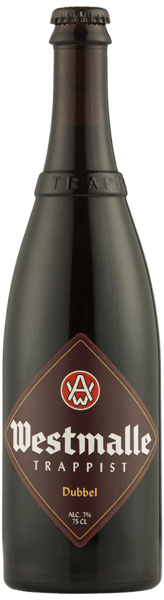 Westmalle Trappist, Dubbel 7 % - 75 cl.