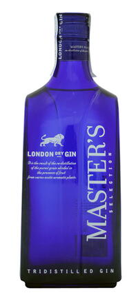 MASTER'S London dry Gin 40 % alk.