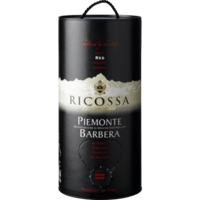RICOSSA Barbera Piemonte - Bag in Box 3 ltr.