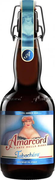 Amarcord Tabachera Amber strong Ale - 50 cl. - Italien