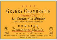 Domaine Gallois - Gevrey Chambertin Les Goulots Premier Cru 2011