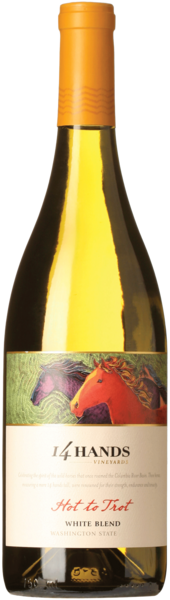 14 Hands Hot to Trot White Blend Washington State