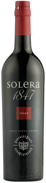 Gonzalez Byass Sherry - Solera 1847 Cream Sherry