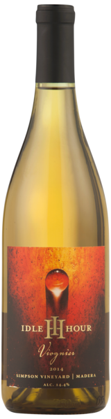 IDLE HOUR Viognier Simson Vineyards 2014 - Californien