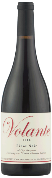 Volante Pinot Noir Sonoma County 2016 (McCoy Vineyards)