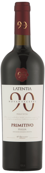 Primitivo Novantaceppi 90 Latentia 2017