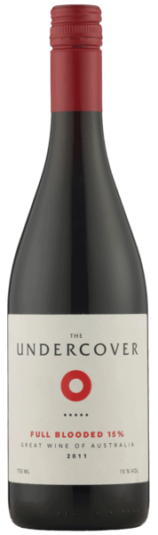 THE UNDERCOVER Full Blooded Fifteen 2017 - 15 % Alkohol australsk rødvin