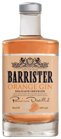 Barrister gin - Orange gin