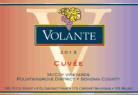 Volante CUVEE McCoy Vineyards Sonoma County 2013