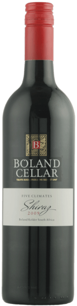 "Boland Cellar Shiraz ""Five Climates"" 2013"