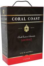 Coral Coast Shiraz - Bag-In-Box, 3 liter
