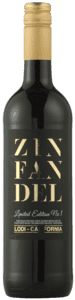ZIN FAN DEL - Zinfandel Lodi - Limited Edition No 1. 2016 15 % Alkohol