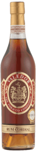Valedor Rom Cordial, 50 cl. 47 % alkohol