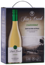 Jim's Creek Chardonnay - South Eastern Australia, Bag-In-Box, 3 liter