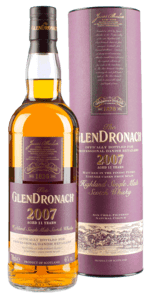 GlenDronach Julemalt 2018 - 11 Years Old Highland Single Malt 46 % - P.X. Sherry Casks