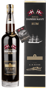 A. H. RIISE Royal Danish Navy Rum - 40 %