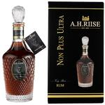 A.H. Riise Non Plus Ultra Very Rare Rum - St. Thomas 40 %