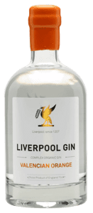 LIVERPOOL Valencian Orange Gin - 43 % alkohol
