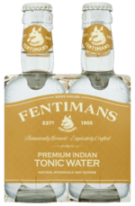FENTIMANS Premium Indian Tonic Water, 4-Pack med 4 flasker á 200 ml.