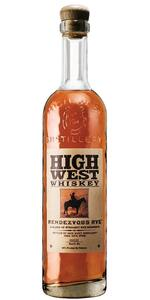 High West Whiskey - Double Rye, 46% alk. 70 cl.