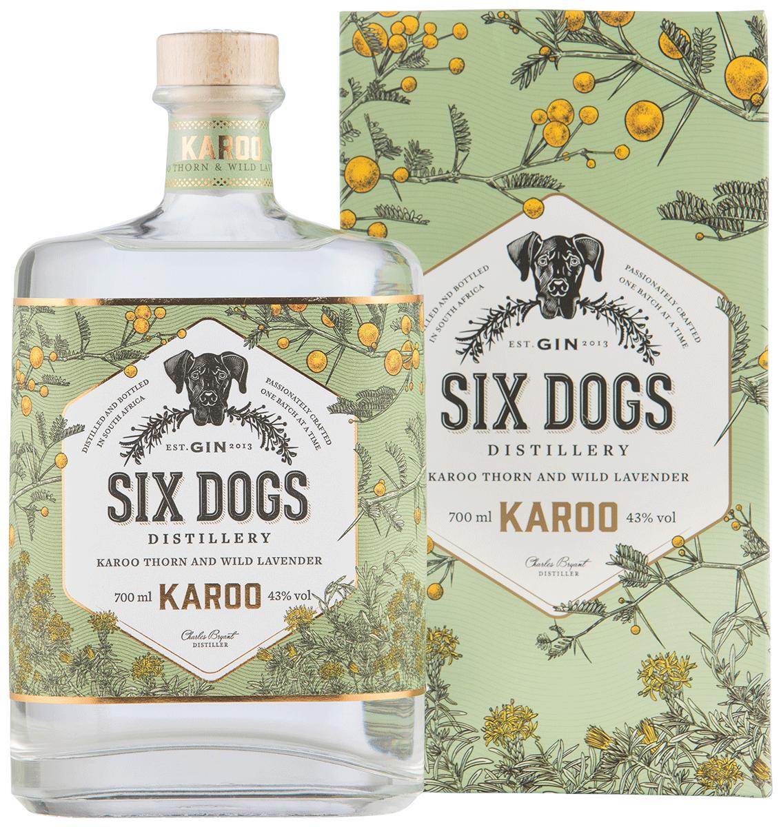 Six Dogs Distillery Karoo Gin